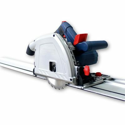 165mm Plunge Cut Saw with 1400mm Guide Rail