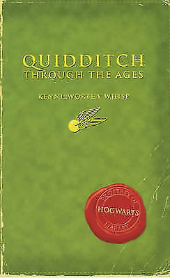 """""""VERY GOOD"""" Comic Relief: Quidditch Through the Ages (Harry Potter's Schoolbooks"""