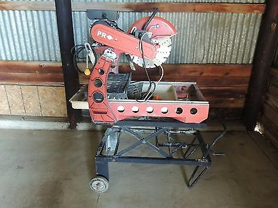 PR Diamond Masonry Brick Wet Saw w/ Stand
