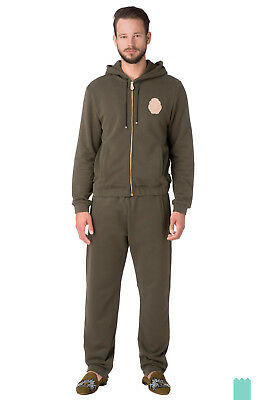RRP €840 BILLIONAIRE COUTURE Size XL Men's Zip Hooded Sport Suit Made in Italy