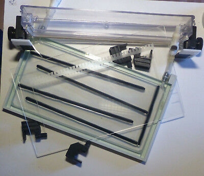 Casette for Thermostatted Gel Electrophoresis (e.g. on A.L.F. DNA Sequencer)