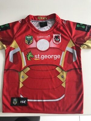 St George Rugby League Shirt Aged 14