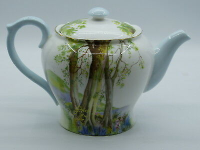 Shelley Woodland Tea Pot  13348 In Excellent Condition.