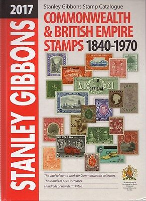 Stanley Gibbons Sg 2017 Commonwealth & British Empire Stamps 1840-1970 Catalogue