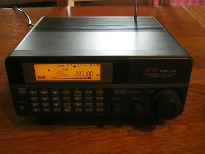 radio scanner receiver GRE PSR-225 500 channels programmable