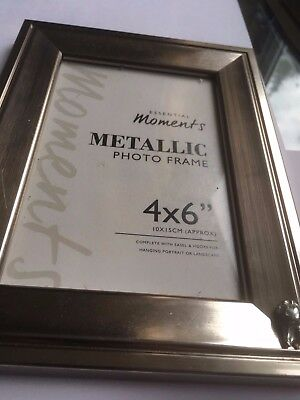 Tooth TG319A Pewter On A PICTURE PHOTO FRAME SILVER 6X4 Hang/Stand