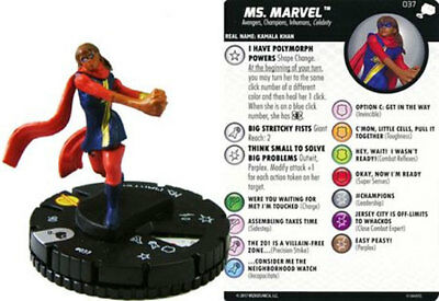 Ms. Marvel #037 The Mighty Thor Marvel Heroclix