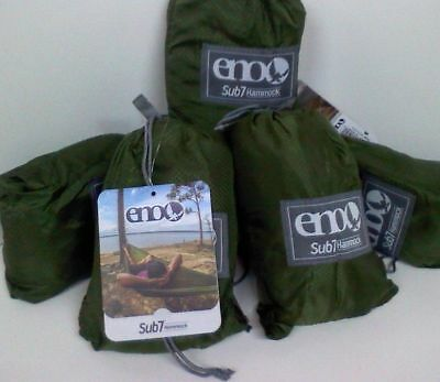 Eno Sub7 Hammock Lightweight - 6.5 Oz. Travel/Backpack/Hiking Parach