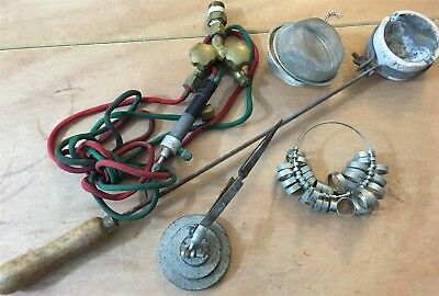 Vtg Lot Gold Silver Melt Smelting Parts Pieces Metal Refining Jewelry Tools