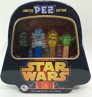 NEW Limited Edition STAR WARS PEZ Collectors Tin