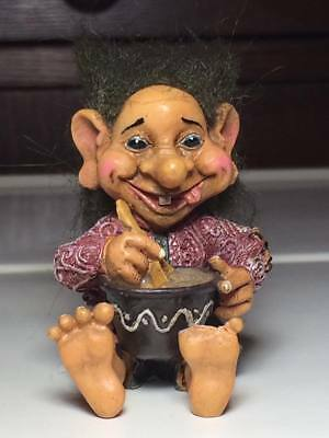 Vintage Nord Souvenir troll made in Norway