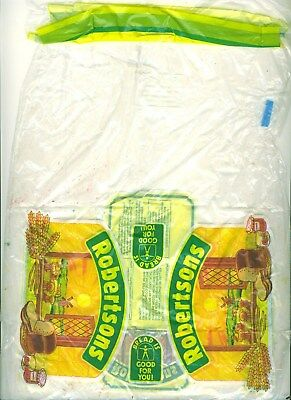 UK 1980s? Robertsons of Carlisle Country Bran loaf cellophane wrapper with creas