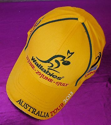 Wallabies Cap 2013 Australia Tour