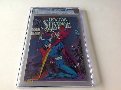 Doctor Strange Sorceror Supreme 1 Cgc 9.4 White Pages New Format Free Shipping