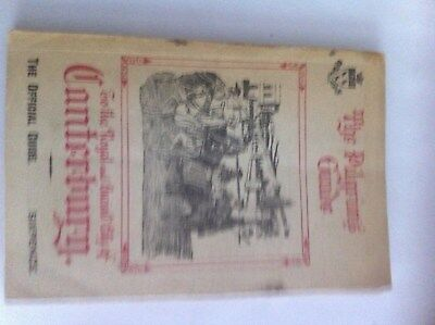 The Pilgrims Guide to the Royal & Ancient City of Canterbury 1926