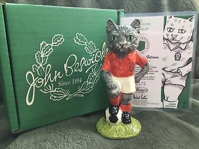 "Beswick ""  Kitcat "" Footballing Felines  Still Boxed"