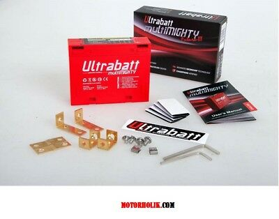 Ultrabatt Mini Li-ion 12V Motorrad Batterie 12V  Lithium Module