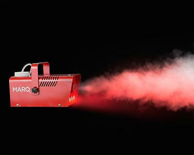 Halloween Marq 400 Red Fog/Smoke Machine Red Triple LED's and 1 Litre of Fluid