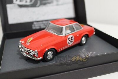 Scalextric Passion Sp026 Mercedes Benz 230 Sl #39 Rally Spa Sofia Liege 1963