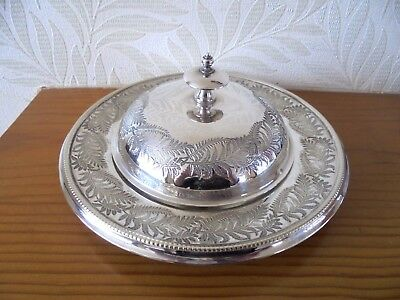 Gorgeous Mappin & Webb Silver Plated Butter Dish