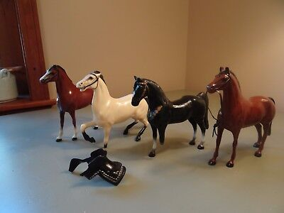 Hartland Vintage Horses and Saddle for parts or customizing