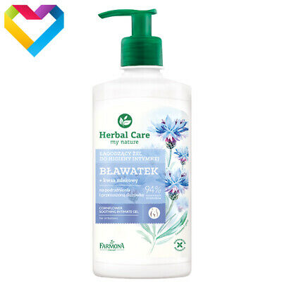 HERBAL CARE CORNFLOWER SOOTHING INTIMATE GEL 330ml HER2053