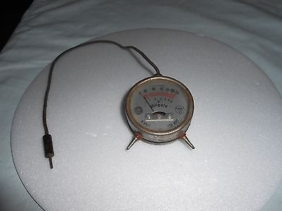 Vintage Volt Meter Pocket Type Volt Amp Meter, Old Antique