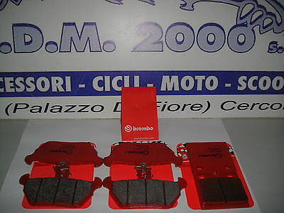 Front Brake Pads+ Rear Brembo Bmw K 1100 Rs Year From 1993