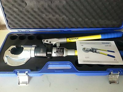 Hydraulic Crimping Tool - 12 Ton - German Quality - equiv. to  Y35
