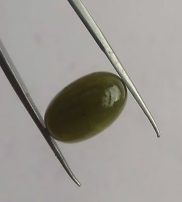 Natural Rare Green Grossular Garnet Oval Loose Cabochon 10*15 Mm 9 Ct