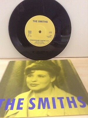 The Smiths - Shakespeares Sister - Lyntone Pressing