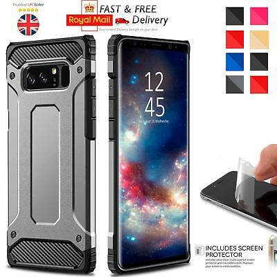 Hybrid Armor Shockproof Rugged Bumper Case For Samsung Galaxy S7 Edge S8 Note S9