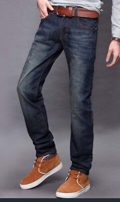 Fashion Mens Slim Denim Jeans - Multiple Styles