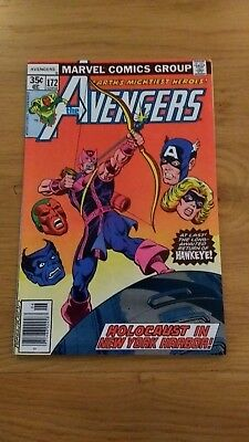 Avengers 172 high grade US issue