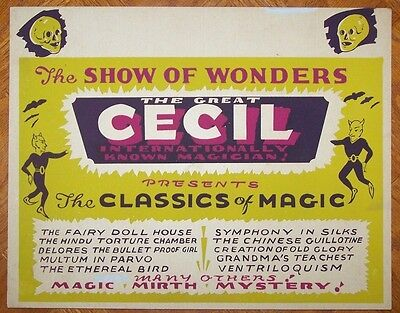The Great Cecil Window Card