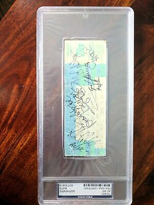 ACDC 1996 signed ticket (Target Center/Minn.)