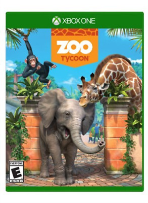Xone Action-Zoo Tycoon  (Us Import)  Xb1 New