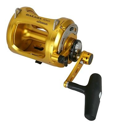 New Okuma Makaira Gold 50WII and Game Alps 2-Speed Roller Tip Combo 5ft 8in 24kg