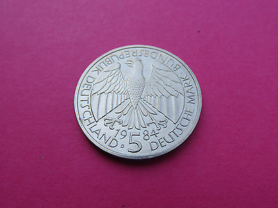 Superbe Piece De 5  Deutsche  Mark De 1984   Commemorative Allemande