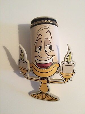 Lumiere the candle stick Purse 3D Disney Beauty and the Beast Primarks BNWT HTF