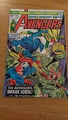 Avengers 143 high grade US issue