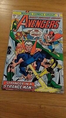 Avengers 138 high grade US issue