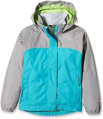 (X-Large, Blue/Bluebird) - The North Face Girls' Resolve Reflective Jacket