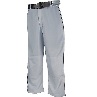 (X-Small, Gray) - Franklin Sports Relaxed Fit Youth Baseball Pants