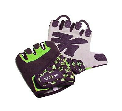 (Large, Green) - M.E.M Fitness Women's Xtreme Fit Gloves. Brand New