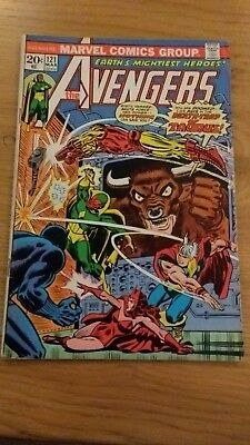 Avengers 121 mid to high grade US issue