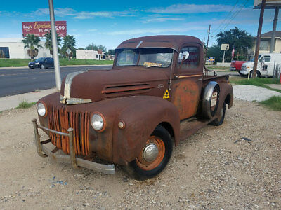 "1947 Ford Other Pickups  Barn Find 1947 Ford Pickup truck, ""last cowboy truck"""