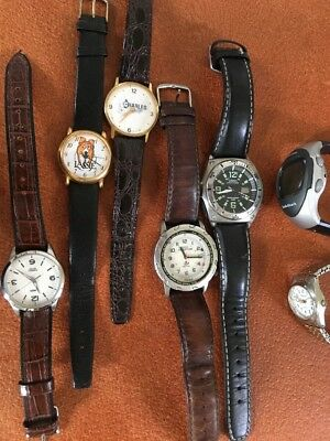 Lot Of 7 Watches Vintage