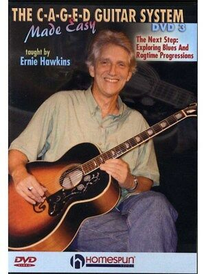 Ernie Hawkins: The C-A-G-E-D Guitar System Made Easy - DVD 3. DVD (Region 0)