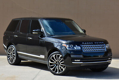 2014 Land Rover Range Rover Autobiography Supercharged 2014 Range Rover Autobiography Supercharged Executive Seating